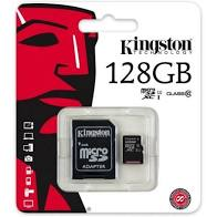 Load image into Gallery viewer, Kingston Micro SDHC Card 128GB Class 4  Memory Cards & SIM Cards mobicompu-repair.myshopify.com {shop_name}