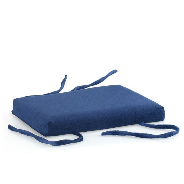 Coussin de sol rectangle 34x24 bleu canard Student