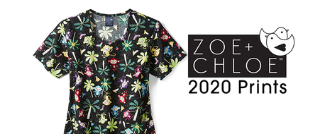 2020 Print Designs Now Available in Scrub Tops