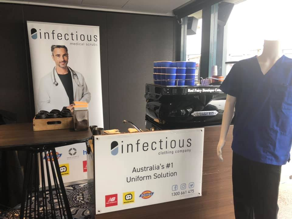 2019 Independent Vets of Australia (IVA)Conference - Infectious for Vet Uniforms, Scrubs, Lab Coat and Corporate