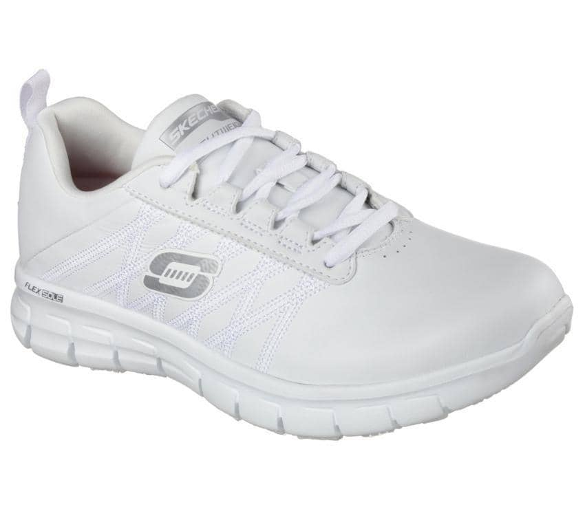"76576 SKECHERS SURE TRACK ""ERATH"" WOMENS WORK SHOES"