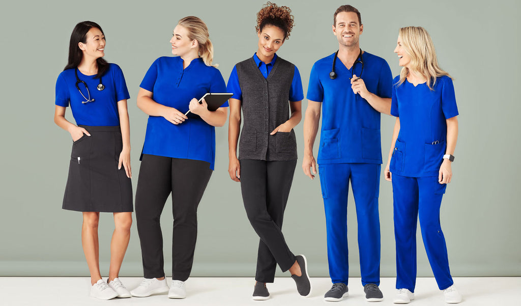 Aged Care Uniforms - Scrubs, Tunics, Blouses, Skirts and Pants