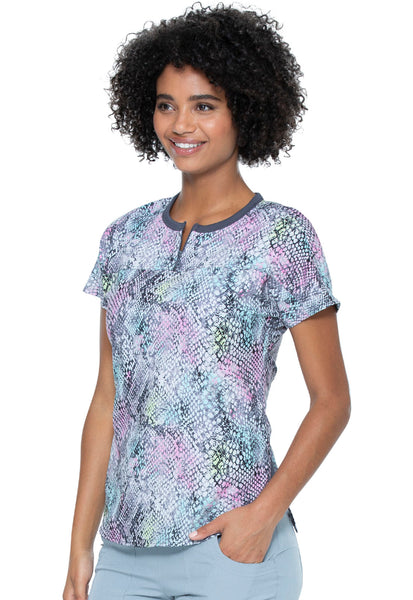 Snakeskin Patterned Scrubs by Heartsoul and Infectious.com.au