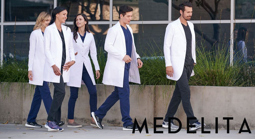Scrubs and Lab Coats Medical Work Uniform Medelita by Infectious.com.au