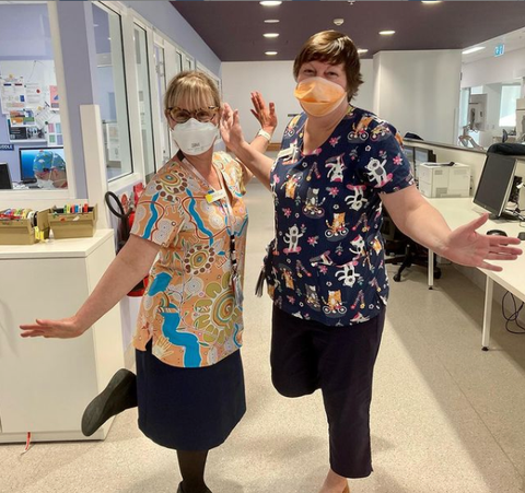Fun Friday Scrub Club - Buy printed and patterned scrubs supplied by Infectious