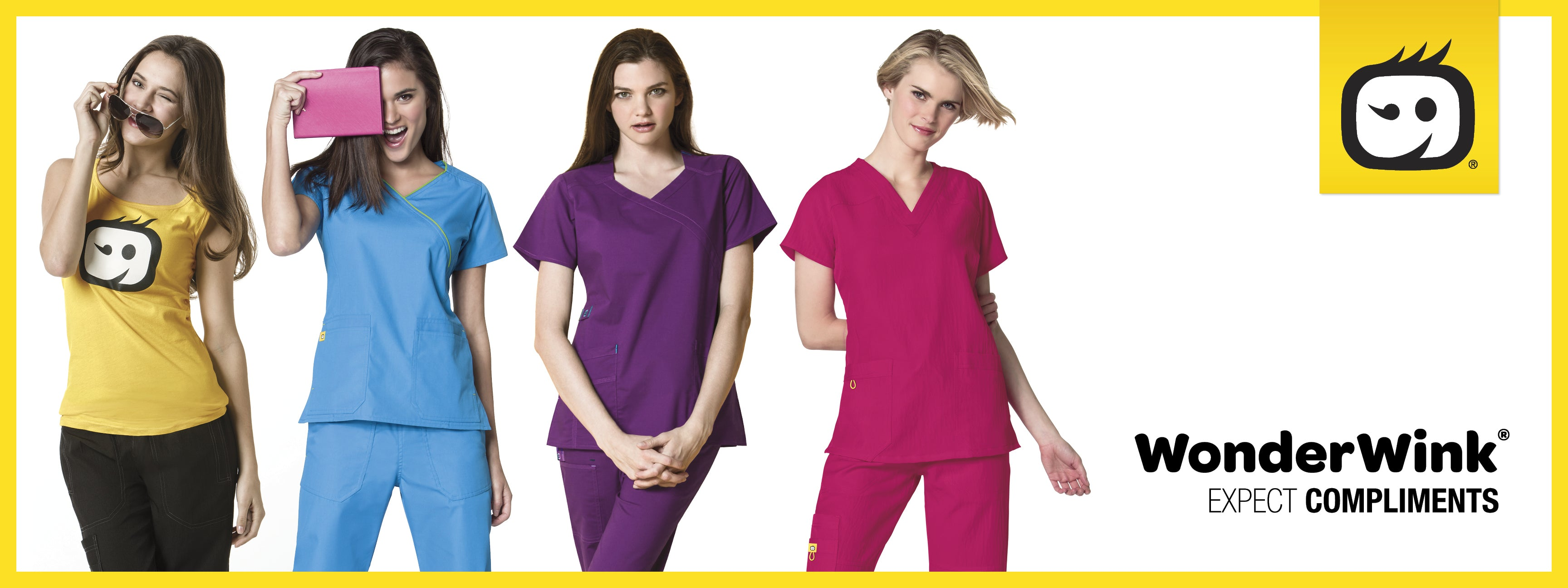WonderWink Medical Uniforms Banner | Infectious.com.au
