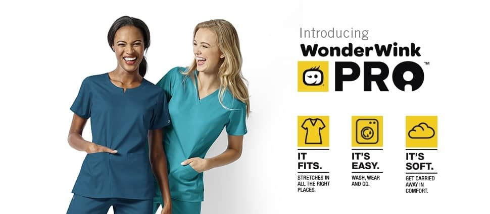 PRO BY WONDERWINK - THE NEW GENERATION OF NURSING SCRUBS