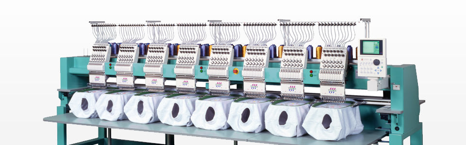 Embroidery Machines at Work - Uniforms