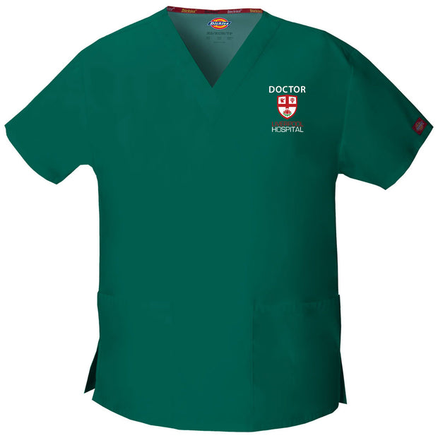 86706 Liverpool Emergency Womens V-Neck Scrub Top - Infectious Clothing Company