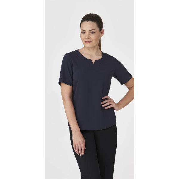 2299 Knit Woven Top from City Collection - Infectious Clothing Company