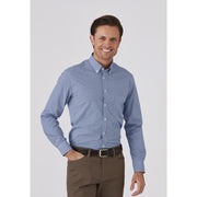 4222 City Collection Mens Pippa Check Long Sleeve Shirt