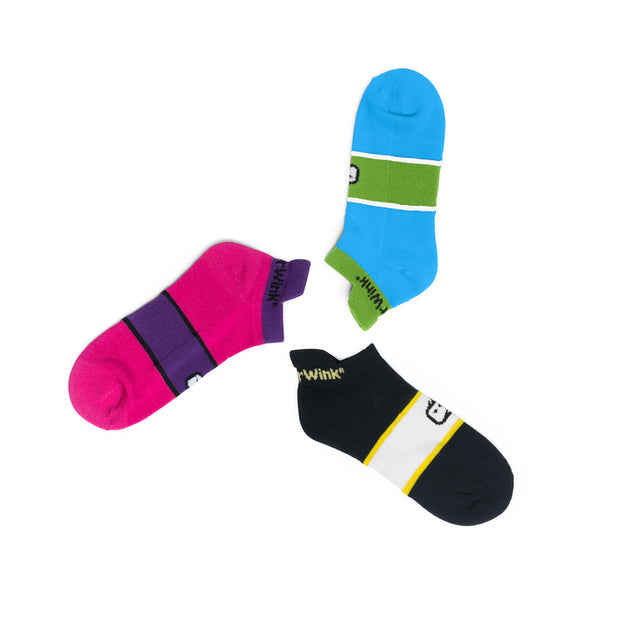 485 WonderWink Women's No Show Socks 3 Pack - Infectious Clothing Company