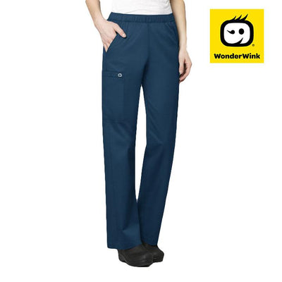 501P WonderWORK Women's Petite Elastic Waist Nurses Scrub Pant - Infectious Clothing Company