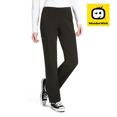 "5112 ""Hybrid"" wonderwink hp modern straight leg scrub pant - Infectious Clothing Company"