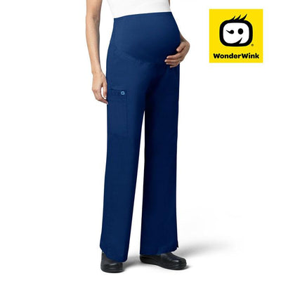 545 SAH Nurses WonderWORK Maternity Stretch Nursing Scrub Pants - Infectious Clothing Company
