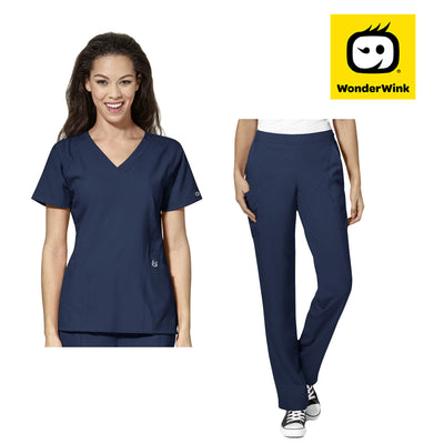 WonderWink W123 Women's Microfibre Scrub Set - Infectious Clothing Company
