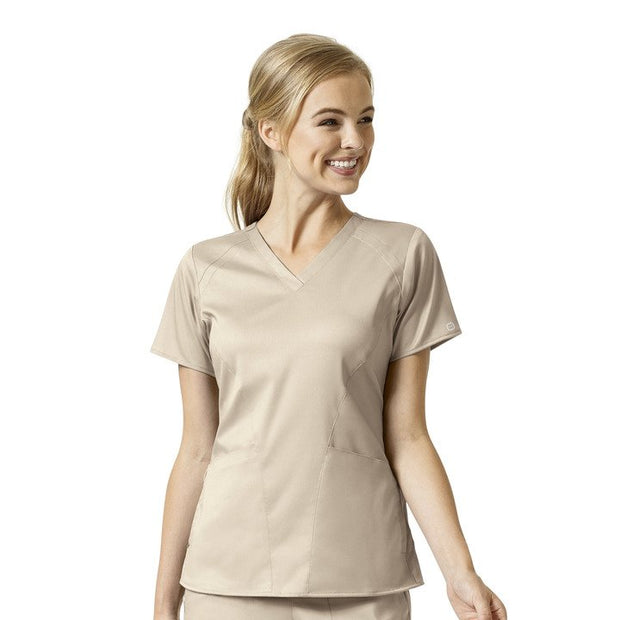 6319SP WonderWink PRO Women's 4 Pocket V-Neck Top