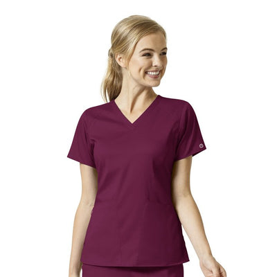 6319 WonderWink PRO Women's 4 Pocket V-Neck Top