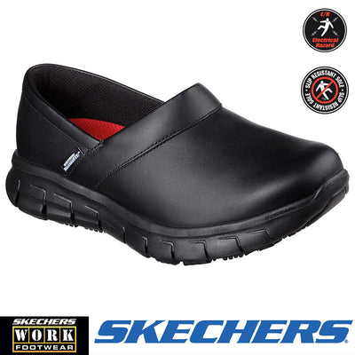 "76542 Skechers Sure Track ""Bernal"" Womens Work Slip-on - Infectious Clothing Company"