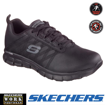 "76576 Skechers Sure Track ""Erath"" Womens Work Shoes - Infectious Clothing Company"