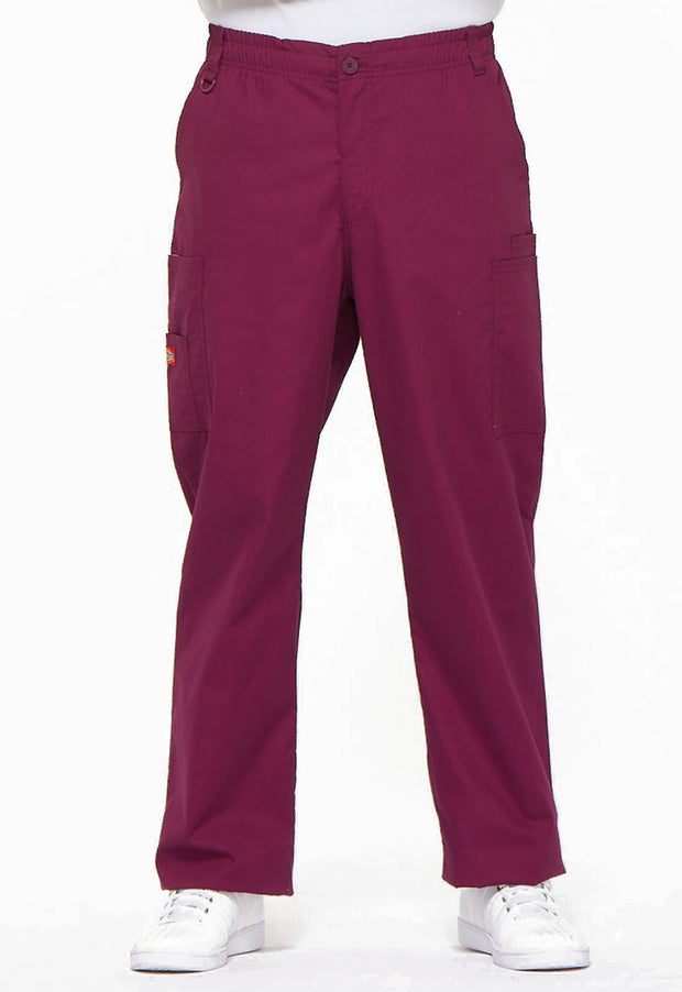 81006 Dickies men's EDS signature zip fly cargo scrub pant