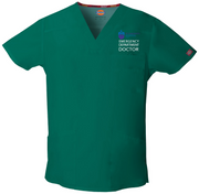81906 St Vincents Emergency Dickies Dickies EDS Signature Men's V-neck Utility Scrub Top - Infectious Clothing Company