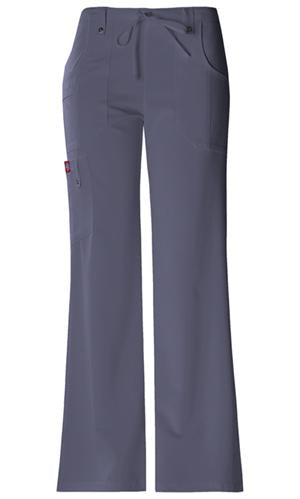 82011P Dickies Xtreme Stretch Petite Womens Drawstring Scrub Pant - Infectious Clothing Company