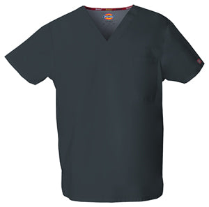 83706 Dickies EDS Classic Unisex V-Neck Scrub Top - Infectious Clothing Company