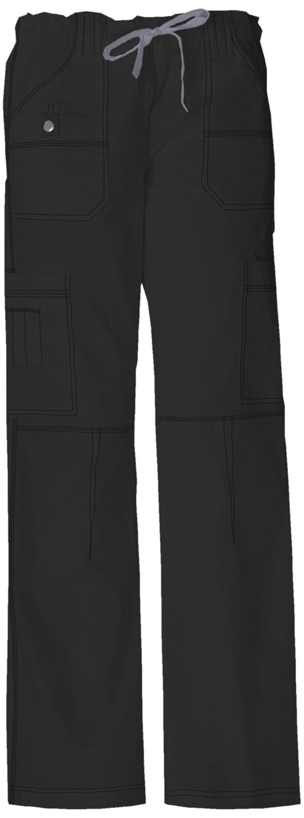 857455 Dickies Gen Flex Womens Cargo Scrubs Pant - Infectious Clothing Company