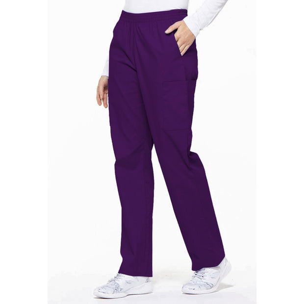 86106T Dickies EDS Tall Women's Elastic Waist Cargo Scrubs Pant - Infectious Clothing Company
