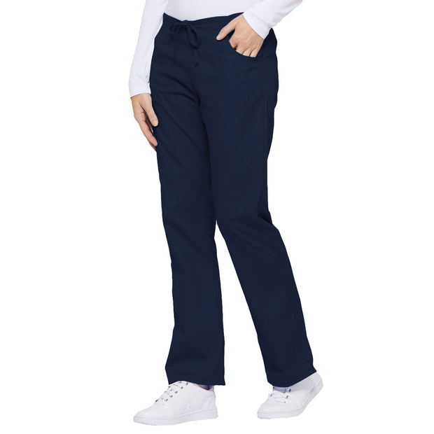 86206 Dickies EDS Womens Mid Rise Drawstring Cargo Pant