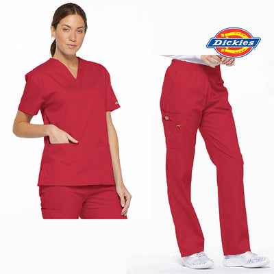 86106-86706 Dickies EDS Signature Classic Womens Scrub Set