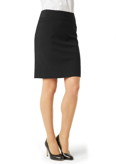 BS128LS Biz Collection Ladies Classic Knee Length Skirt