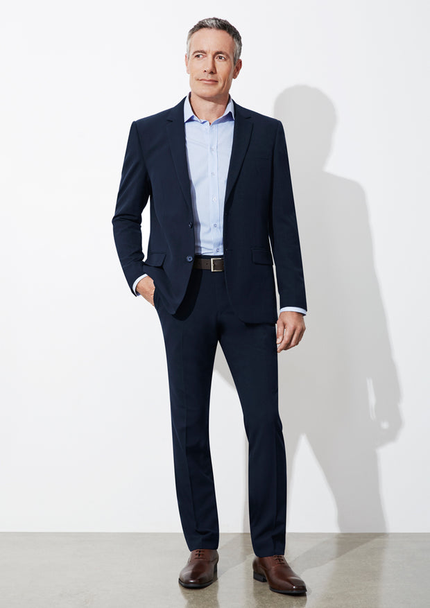 BS720M Biz Collection Mens Classic Slim Pant