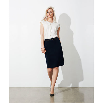 BS734L Biz Collection Ladies Loren Skirt - Infectious Clothing Company