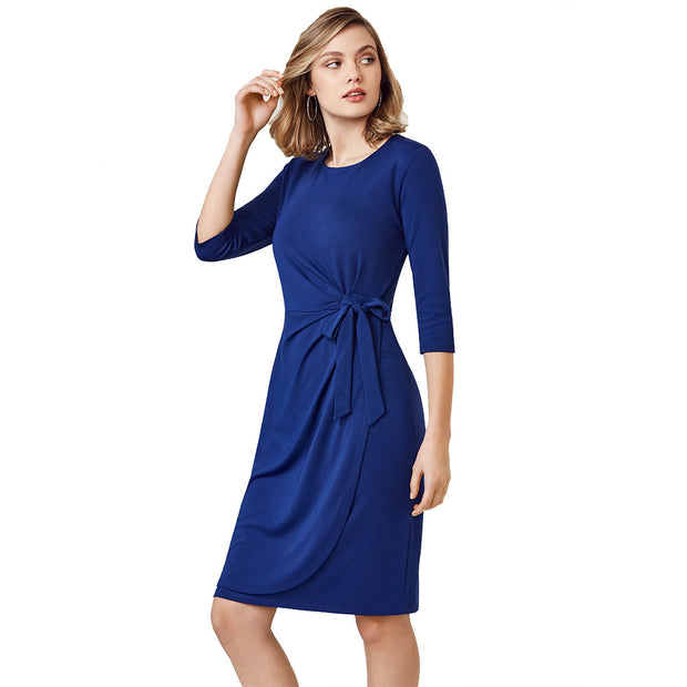 BS911L Biz Collection Ladies Paris Corporate Style Dress - Infectious Clothing Company