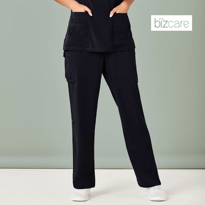 CSP944LL Biz Care Womens Straight Leg Scrub Pant - Infectious Clothing Company