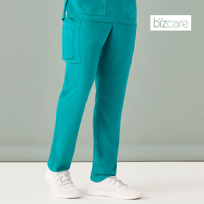 CSP946ML Biz Care Mens Multi Pocket Scrub Pant - Infectious Clothing Company