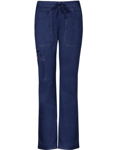 DK100 Dickies Gen Flex Women's Low Rise Straight Leg Drawstring Pant