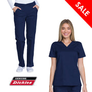 GD100-GD600 Dickies Industial Strength Womens Scrub Set