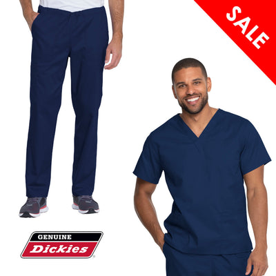 GD120-GD640 Dickies Industial Strength Unisex Scrub Set
