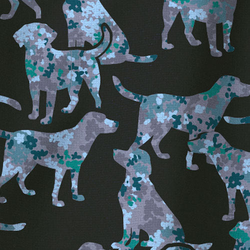 C12114 Carhartt Good Boy Dog Print Scrub Top