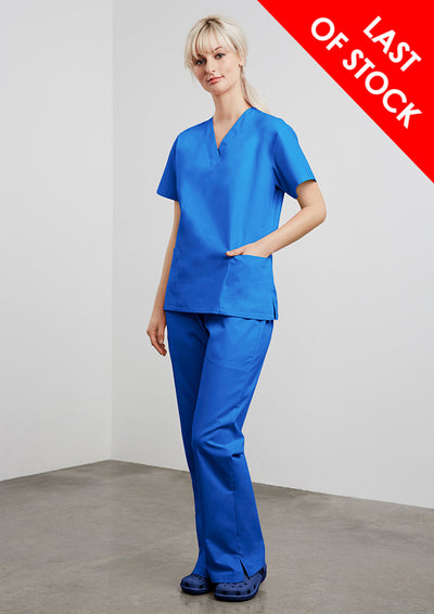 H10622 Biz Collection Ladies Classic Scrubs Top