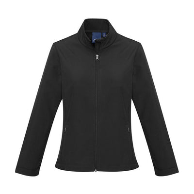 J740L Biz Collection Ladies Apex Lightweight Softshell Jacket - Infectious Clothing Company