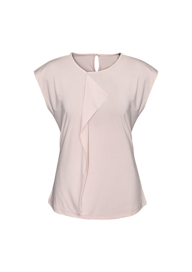 K624LS Biz Collection Ladies Mia Pleat Knit Top - Infectious Clothing Company