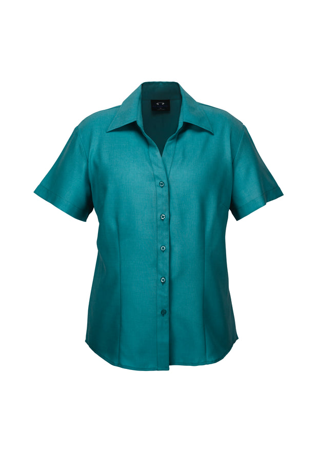 LB3601 Biz Collection Ladies Plain Oasis Short Sleeve Shirt - Infectious Clothing Company