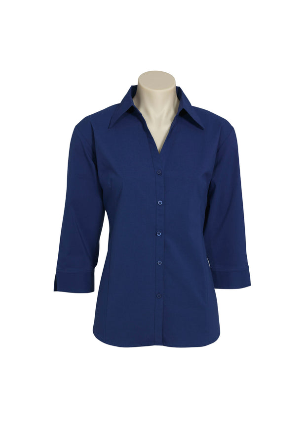 LB7300 Biz Collection Ladies Metro 3/4 Sleeve Shirt - Infectious Clothing Company