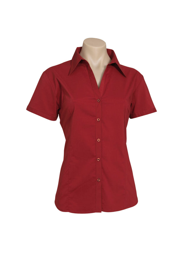 LB7301 Biz Collection Ladies Metro Short Sleeve Shirt - Infectious Clothing Company
