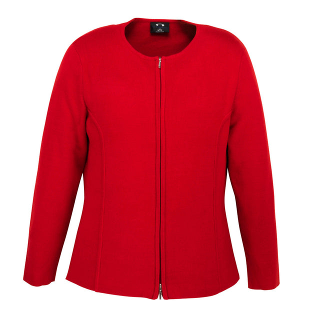 LC3505 Biz Collection Ladies 2-Way Zip Cardigan
