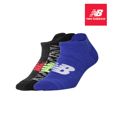 New Balance Men's Socks 3PK Heather Invisible size 7-11 - Infectious Clothing Company